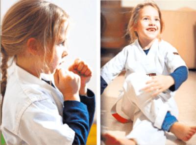 Online-Kickboxen für Kinder