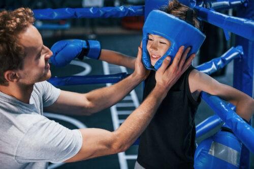 Box-Kind wird von Coach unterstützt und motiviert