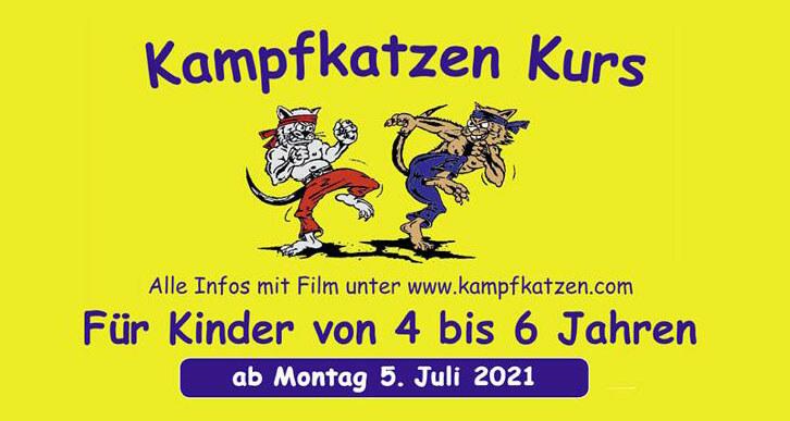 Kampfkatzen Kurs ab Montag den 5.Juli