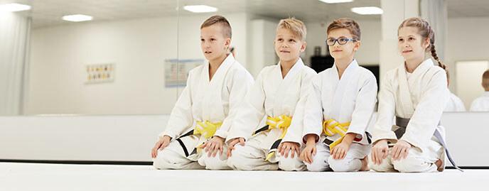 Karate während der Sommerferien